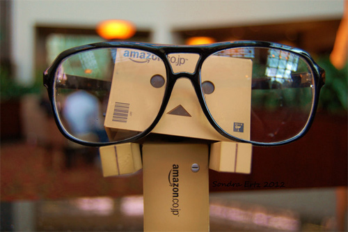 Geek glasses danbo photography cute