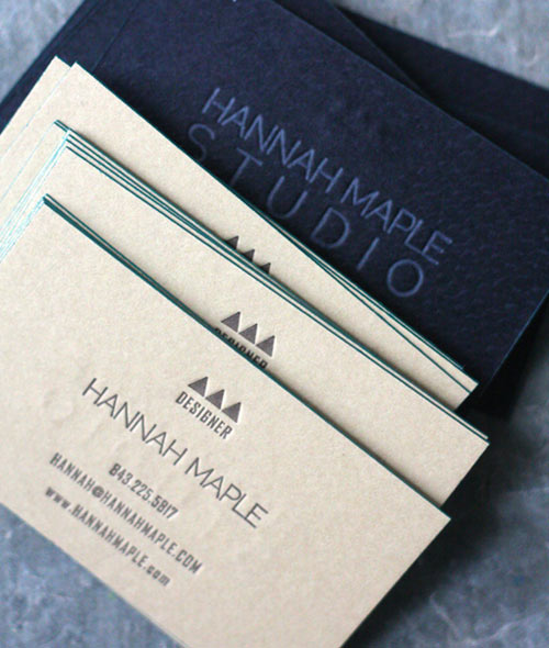 Hannah Maple Business Cards