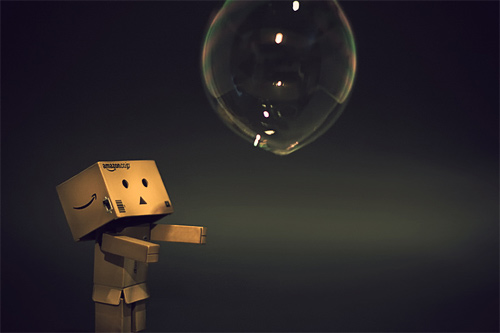 Soap bubble danbo photography cute