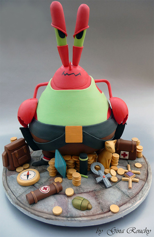 Mr. Crabs spongebob unusual cake design cool