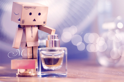 Perfume smelling danbo photography cute