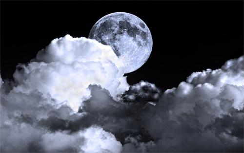 Hidden cool moon wallpaper