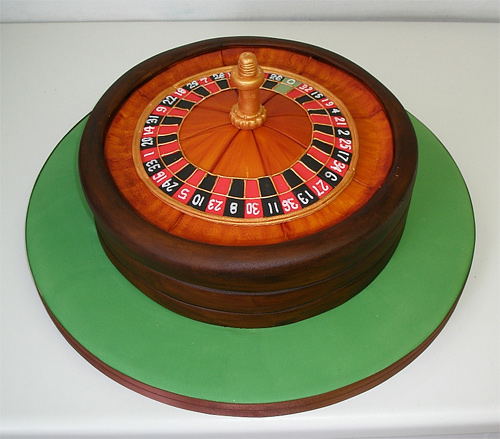 Roulette unusual cake design cool