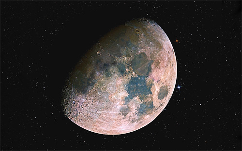Close up beautiful cool moon wallpaper