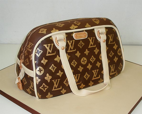 Louis vuitton bag unusual cake design cool