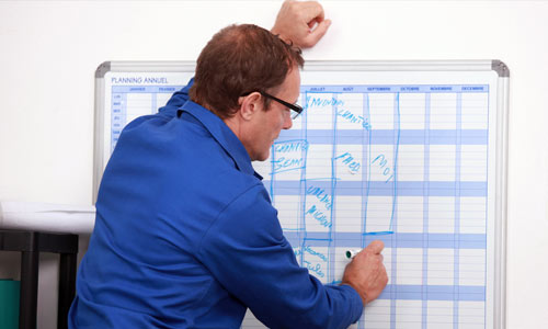 Have a list of projects and their deadlines