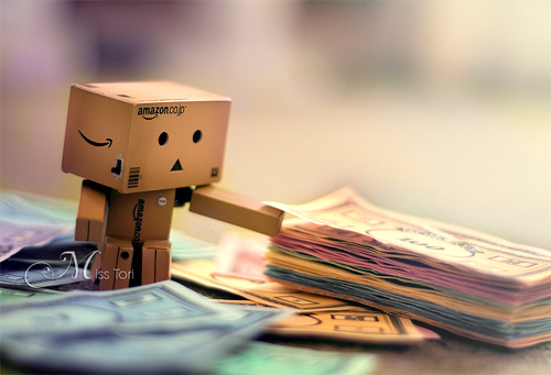 Rich money playing danbo photography cute