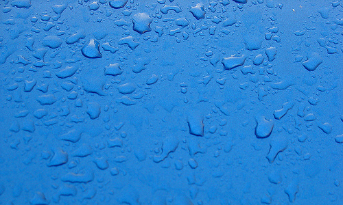 Drops blue rain texture high resolution
