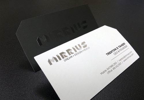 Mirrius Business Cards