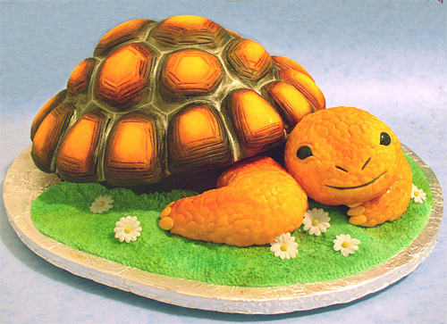 Tortoise turtle animal unusual cake design cool