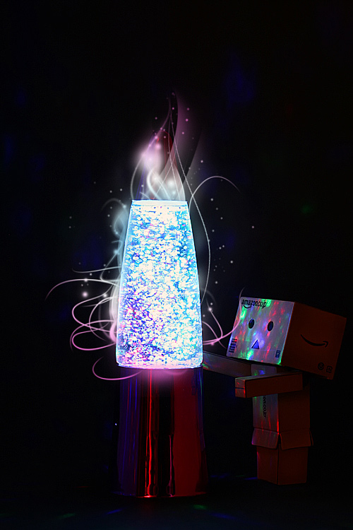 Lava lamp light danbo photography cute