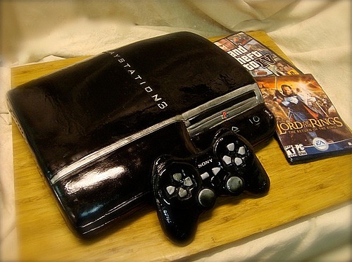Playstation unusual cake design cool