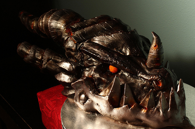 Deathwing world of warcraft unusual cake design cool