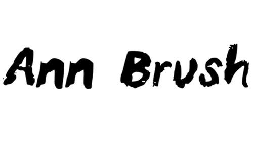 Ann Brush font