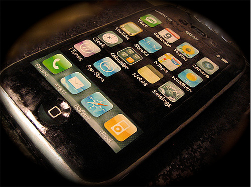 Iphone apple unusual cake design cool