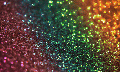 Rainbow orange green red shiny glitter texture high resolution