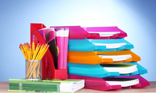 Organize project files