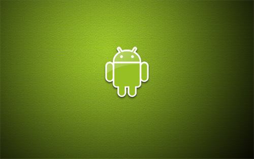 Android Green Square Pattern wallpapers