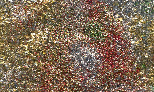 Silver assorted shiny glitter texture high resolution