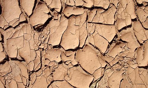 Nice brown dry mud texture