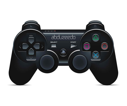 Create a Playstation Controller in Illustrator