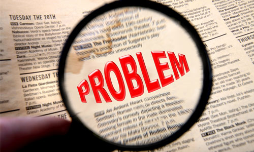 Research and study the problem