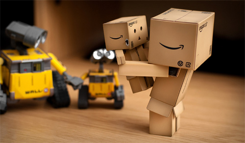 Father and son wall e danbo photography cute
