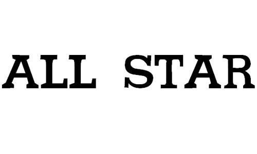 All star font