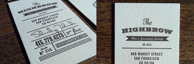 40 New Collection of Beautiful Typography Business Cards