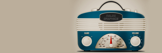Create a Cool Vintage Radio Icon in Photoshop
