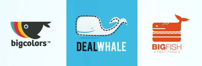 30 Simple Yet Beautiful Examples of Whale Logo