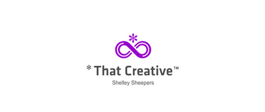 Creative purple logo