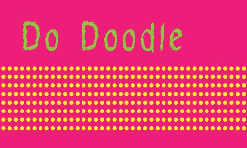 Nice doodle fonts