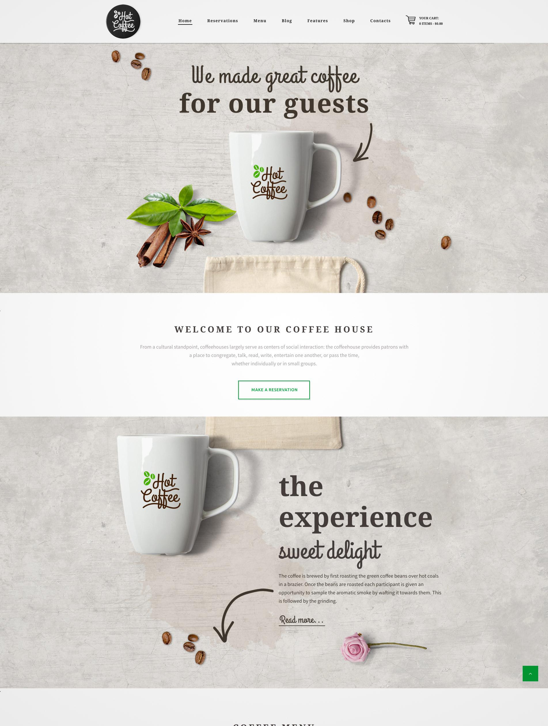 cafe resto theme