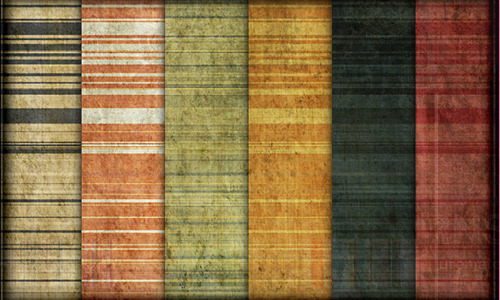 Grunge amazing seamless stripe photoshop pattern set