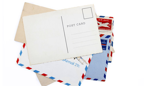 Send mailer postcards