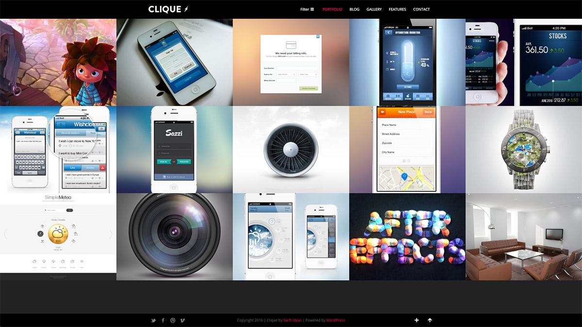 ajax responsive theme