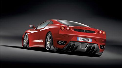 Ferrari F430 rear wallpapers