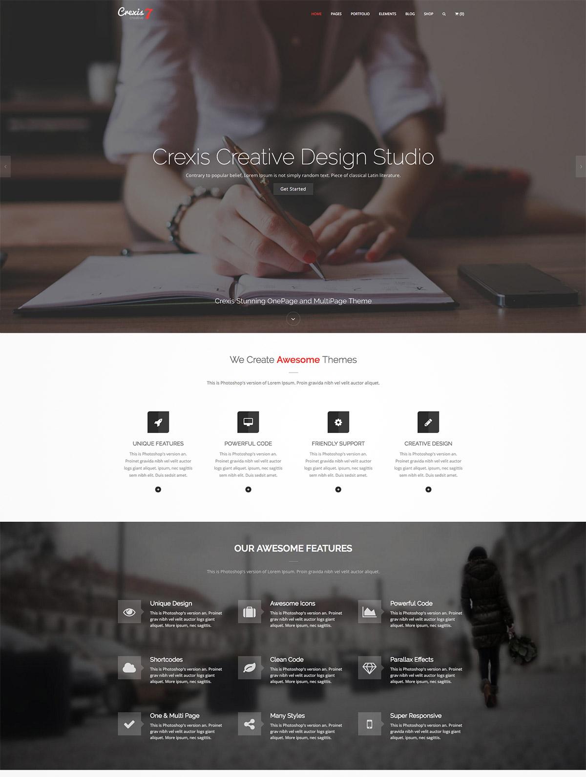 multi-purpose responsive wordpress