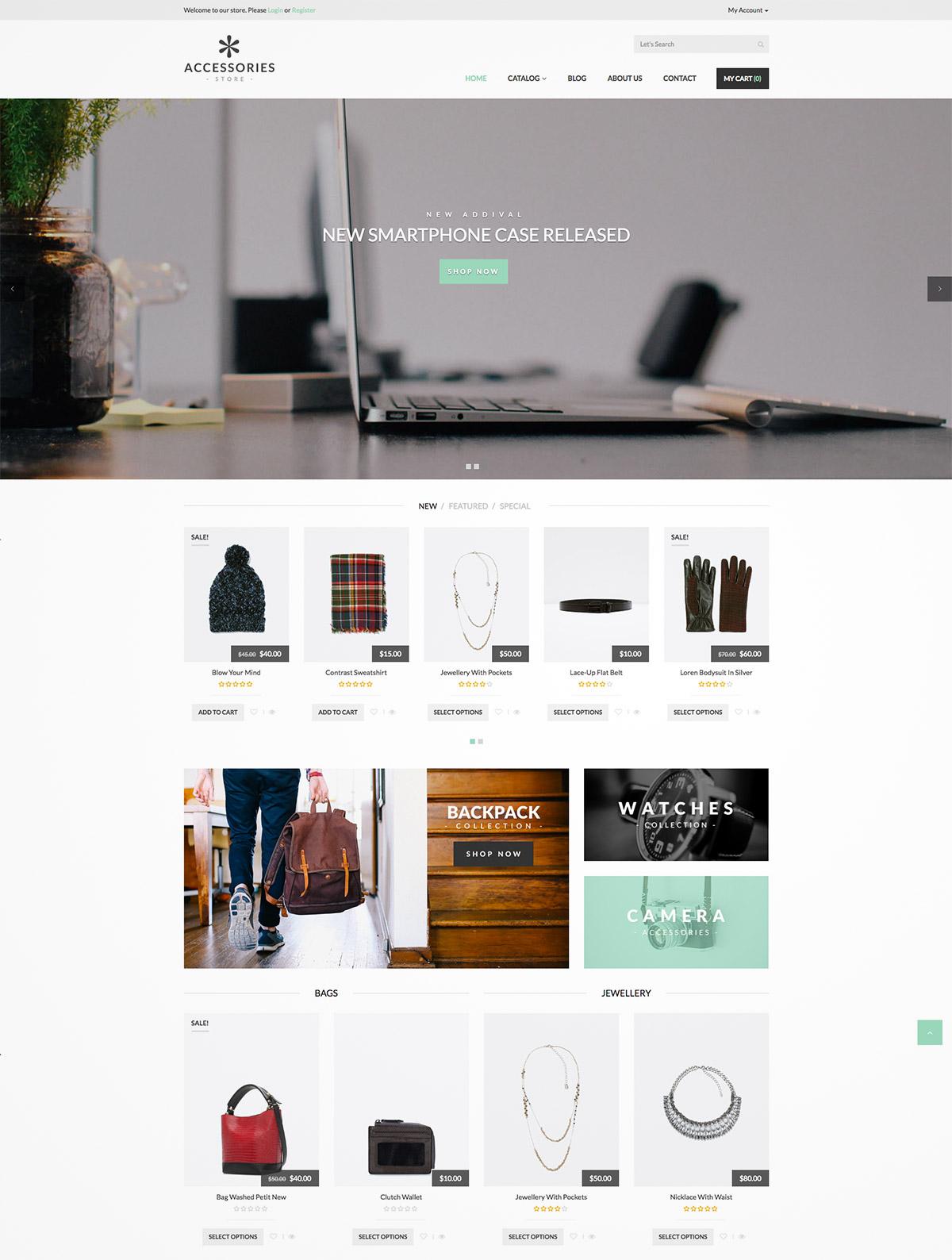 shopify theme responsive