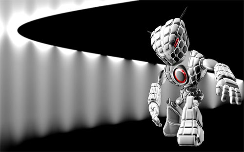 Robot: Armed wallpaper