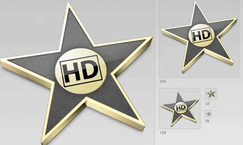 iMovie HD Icon '08,'09 Style icons