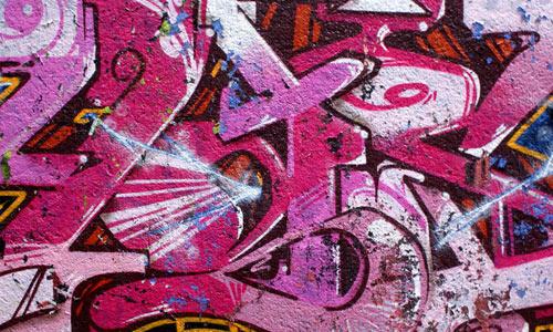 Pink Graffiti texture