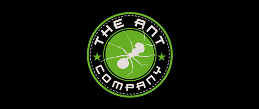 Cool company ant logo