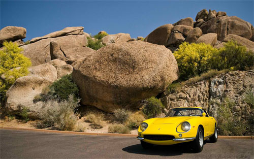 yellow ferrari car_84957 Wallpaper