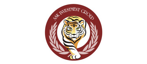 Investment company tiger logo