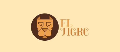 Campaign minimalist tiger logo