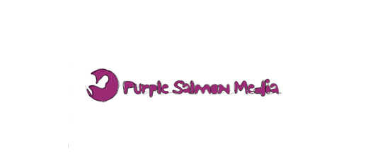 Web design purple logo