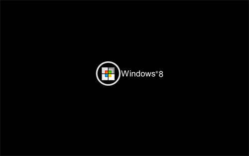 Windows 8 black wallpapers