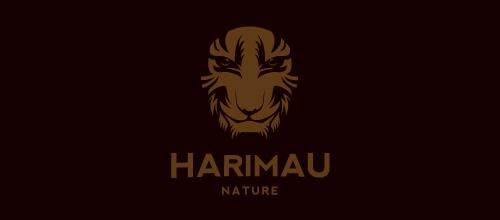 Face maroon tiger logo